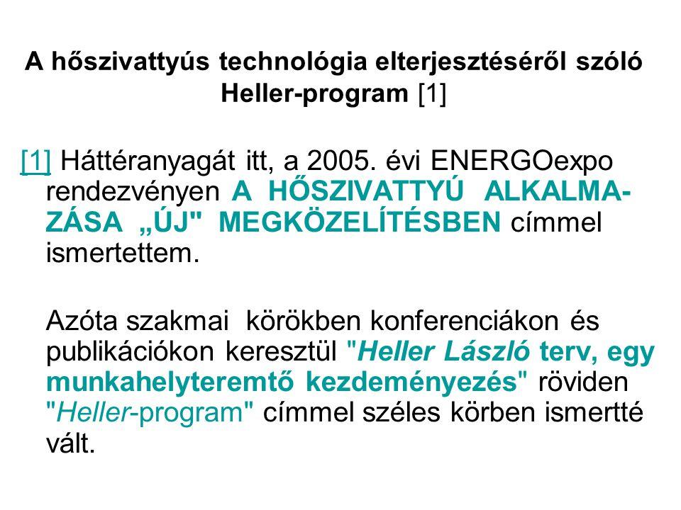 A hőszivattyús technológia elterjesztéséről szóló Heller-program [1]